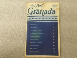 1976 FORD GRANADA Owners Manual 15876 - $16.78