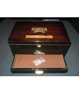"Supreme Humidor Limited Edition 2000 16"" x 10"" Cigar Humidor W/ 1 Key - $89.09"