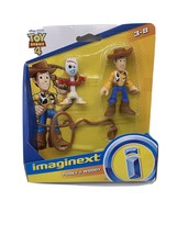 Fisher-Price Imaginext Disney Pixar Toy Story 4 - Forky & Woody NEW - $13.87