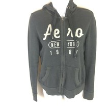 Aeropostale Womens Gray Hoodie Jacket Full Zip M - £13.77 GBP