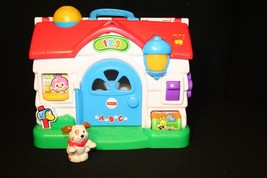 Fisher-Price Laugh & Learn Puppy's Activity Home w/puppy & instructions - $34.95
