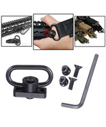 Tactical Heavy Duty 1.25 Sling Mount Push Button QD Sling Adaptor Rail B... - $10.79