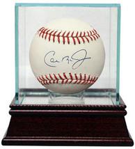 Cal Ripken, Jr. signed Official Major League Baseball w/ Glass Case- MLB... - $158.95