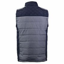Holstark Men's Zip Up Multi Pocket Insulated Fleece Lined Two Tone Athletic Vest image 10