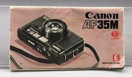 Vintage Canon AF35 35mm Camera Instructions Manual - $34.30