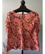 TALBOTS Womens PURE SILK  Blouse Top Pullover 1X - $23.26