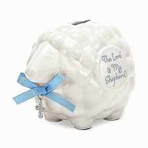 Boys Bank-Lamb With Scripture from Brown Low Gifts - $7.91