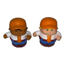 Little Tikes Little People 2 construction workers set replacement parts - $4.80