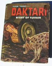 Big Little Book DAKTARI Night of Terror 1967 Vintage Whitman Hardcover C... - $4.85