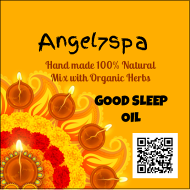Spellbound Good sleep  Oil hand made by angel7spa