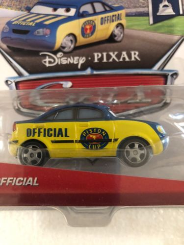 Disney Pixar Cars Piston Cup Race Official Tom