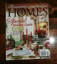 Romantic Homes Magazine November 2010 Special Holiday Guide Clever Gift ... - $6.89