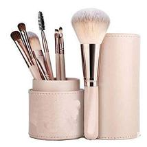 7pcs Makeup Brushes Set, with Cosmetic Bag Synthetic Professional Makeup Brushes image 1