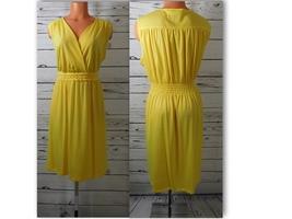Cato Fashions Braided Waist Yellow Dress Size: 22/24W - NWT