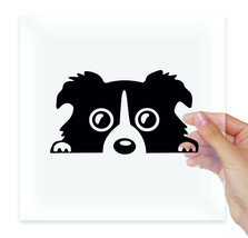 Peeping Dog Vinyl Stickers Decals Laptop Macbook Moto Car Auto Tablet Wa... - $2.99+