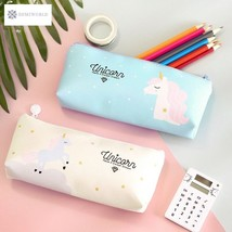 Kawaii Unicorn PU Pen Pencil Bag Storage Bag School Office Supply Studen... - $5.42