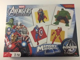 Marvel Avengers Assemble Memory Match Game NEW SEALED - $19.79