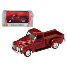 1950 GMC Pick Up Burgundy 1/43 Diecast Car by Road Signature 94255bur - $18.72