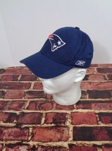 New England Patriots NFL Football Blue Hat Cap One Size Reebok Boston Brady - $17.63