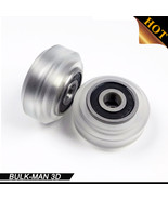 High precision CNC clear Polycarbonate Xtreme v wheel kits for Openbuild... - $23.20