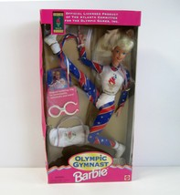 Mattel 1996 Atlanta Olympics Games Olympic Gymnast Barbie in the Box - $14.99