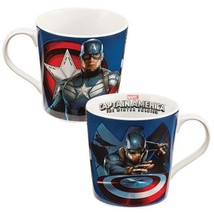 Marvel Captain America Winter Soldier 12 oz Ceramic Mug BRAND NEW Never ... - $5.59