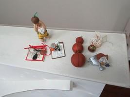 BASKETBALL , Christmas Ornaments , Lot of 6 ,  Rare , Vintage ,Collectible - $29.70