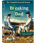 Breaking Bad: The Complete Second Season (DVD, 2010, 4-Disc Set) - u - €8,12 EUR