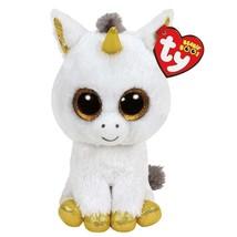 "Ty Beanie Boos Stuffed & Plush Animals White Unicorn Toy Doll 6"" 15cm - $10.80"