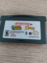 Nintendo Game Boy Advance GBA Operation/Mouse Trap/Simon image 2