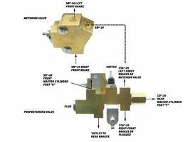 Mopar Disc Brake Proportioning Valve & Metering Valve for Disc Drum A,B,C and E image 10