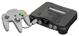 Nintendo 64 Launch Edition Charcoal Grey Replacemen Console (NTSC) Conso... - $59.30