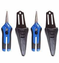 Hydrofarm HGPP400C Precision Curved Blade Gardening Scissor Pruners for ... - $31.61