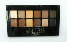 MAYBELLINE THE NUDES Eyeshadow Palette 0.34oz/9.6g - $8.95