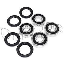 Yamaha YFM125 Grizzly ATV Bearings & Seals kit both sides Front Wheels 2... - $17.63