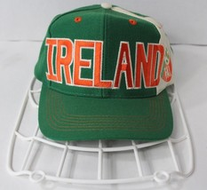 Vintage 90s Adidas Ireland FAI Football Soccer World Cup 94 Snapback Hat... - $31.63