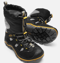 Keen Winterport II Sz 4 M (Y) EU 36 Youth Big Kid's Winter Boots Black 1015248