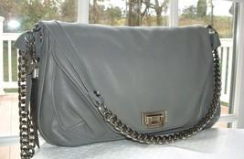TYLIE MALIBU Grey Leather Cross Body Bag NWT - $227.46