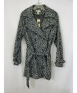 VERTIGO PARIS Womens Black/White Printed Long Sleeve Dress Plus Size 1X ... - $98.95