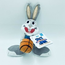 Bark Box XS-S Bugs Bunny Space New Legacy Dog Toy Basketball Squeaker Cr... - £14.53 GBP