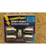 Thunder Bolt Security Lug Nuts 12mm x 1.5 Thread Acorn (19904) - $16.78