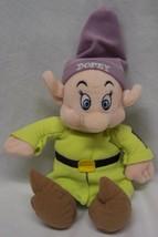 "Disney World Snow White DOPEY DWARF 11"" Plush STUFFED ANIMAL Toy - $15.35"