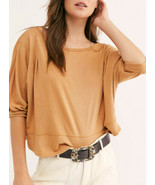 We The Free By Free People Da Donna Inspo OB1151535 T-Shirt Marrone XS - $40.88