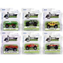 Just Trucks Set of 6 Trucks Series 25 1/64 Diecast Model Cars by Jada 14... - $51.45