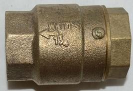 Watts LF600 Lead Free 1 1/4 Inch Spring Check Valve Lead Free image 2