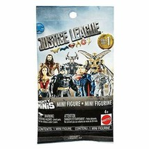 Lot of 6 DC Justice League Mighty Minis Mini Figure Series 1 Blind Bags - $14.85