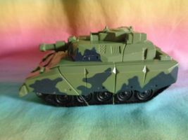 Transformers 2008 Hasbro Green Army Tank Replacement Parts - as is image 3