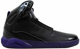 Adidas Roundhouse Mid 2.0 Black/Purple Men's G56231 Size UK 7 - $110.36
