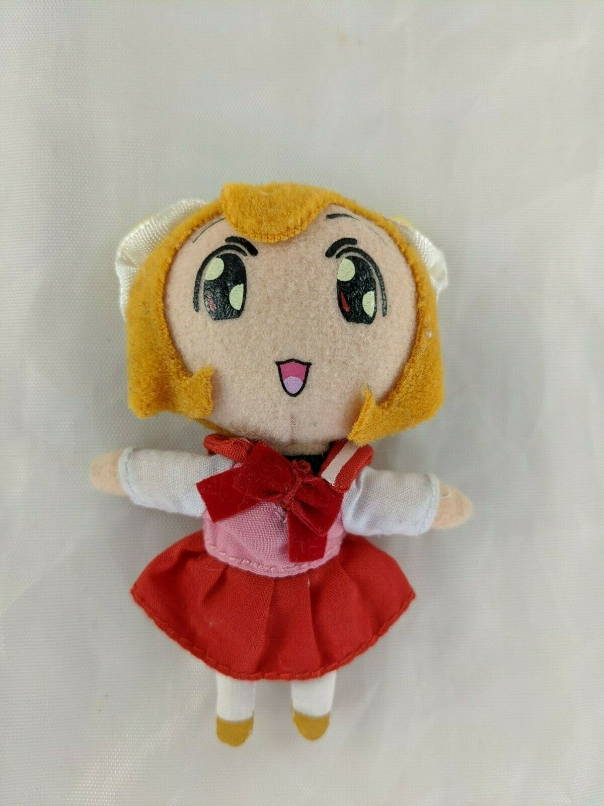 "Primary image for Angel Tales Anime Doll Plush 3.5"" Wonderfarm 2004 Stuffed Animal Toy"