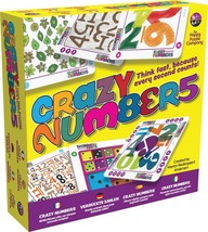Crazy Numbers - Think Fast, Because Every Second Counts. Use Speed Of Th... - $14.99